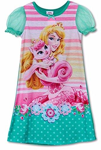 Disney Princess Little Girls Aurora Gown, Sleeping Beauty 2T