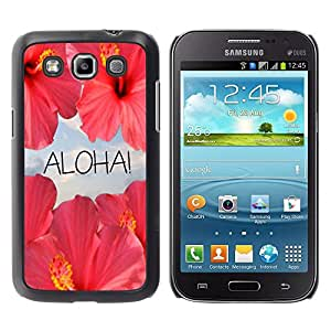 All Phone Most Case / Hard PC Metal piece Shell Slim Cover Protective Case Carcasa Funda Caso de protección para Samsung Galaxy Win I8550 I8552 Grand Quattro aloha flowers sky nature sun Hawa