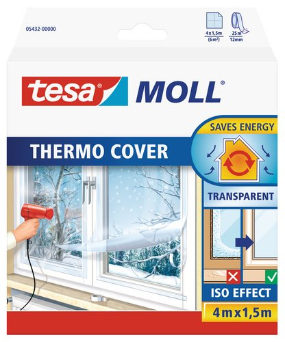 Super tesamoll Thermo Cover Fenster-Isolierfolie - Transparente SK17