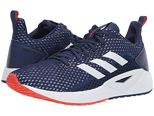 adidas Running Men's Questar Climacool Dark BlueFootwear WhiteActive Orange 14 D US