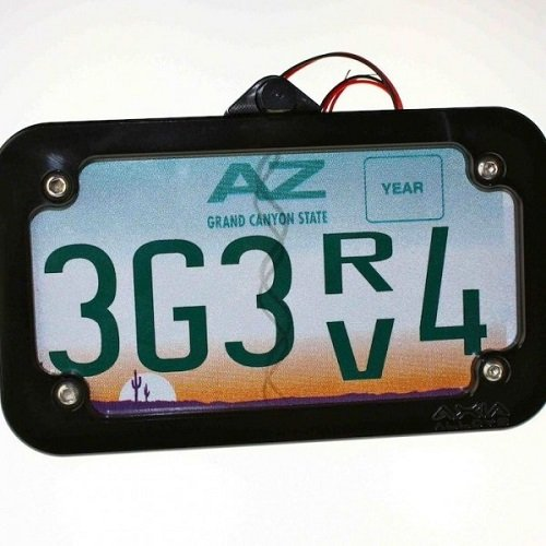 Axia Alloys Lighted License Plate Frame Mount w/ 0.875