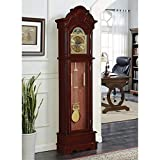 BOWERY HILL Grandfather Clock with Adjustable