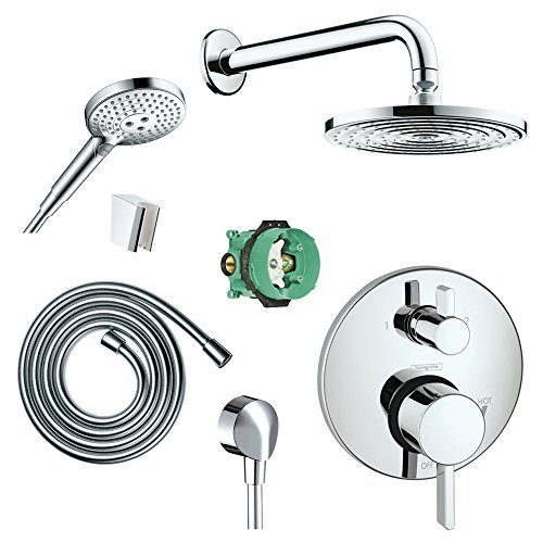hansgrohe-ksh04231-27474-31pc-raindance-downpour-air-showerhead-kit-with-handshower-thermostatic-tri