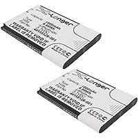2x 3.7V 1800mAh Battery Replaces WR-MF5510 Fits MiFi 5510L DC130318BA1Y
