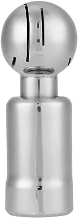 rosca hembra de 3//4 de pulgada Bola sanitaria giratoria de acero inoxidable para limpieza de tanques CIP Bola giratoria de pulverizaci/ón