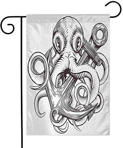 Shinanla Anclaje de la Bandera del jardín al Aire Libre Tatuaje de ...