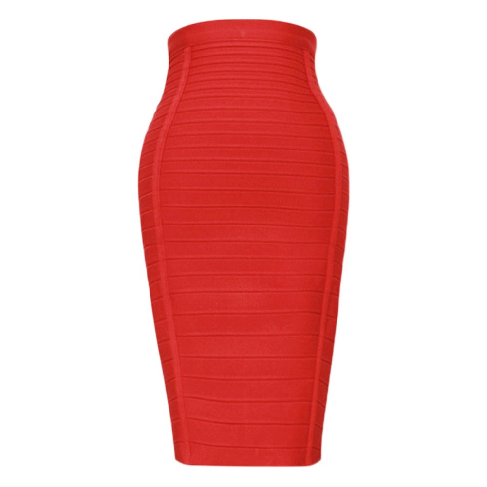 HLBandage Women's High Waist Elastic Rayon Bandage Pencil Skirt 2H-Q572-4UUT