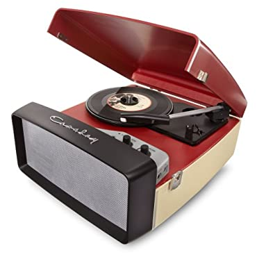 Crosley Collegiate Portable USB Turntable w/Built-In Speakers CR6010A-RE(Red)