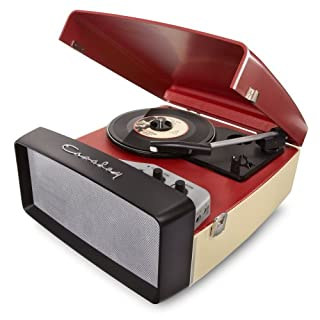 Crosley Radio Collegiate Turntable with Software Suite for Ripping and Editing Audio, Red (B008P8ELDQ) | Amazon price tracker / tracking, Amazon price history charts, Amazon price watches, Amazon price drop alerts
