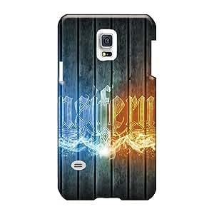 AlissaDubois Samsung Galaxy S5 Mini Durable Hard Phone Case Allow Personal Design High-definition Ensiferum Band Image [SUH19321jrby]