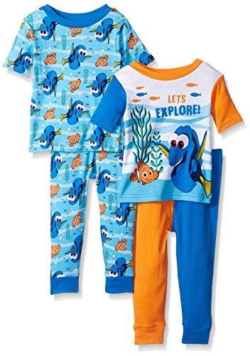 Disney Finding 4 Piece Cotton Pajama