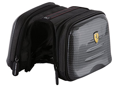 Ferrari Bike Cycling, Mountain Road, Bicycle Wrapping, Rear Seat Bag, Carbon, Front Frame Saddle Bag, Trunk Pannier Bag. (Ferrari Road Bikes)