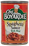 Chef Boyardee Spaghetti Sauce With Meat (Pack of 24)