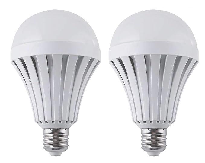 Ctkcom lampadine led da 9 w 2 pezzi emergenza illuminazione