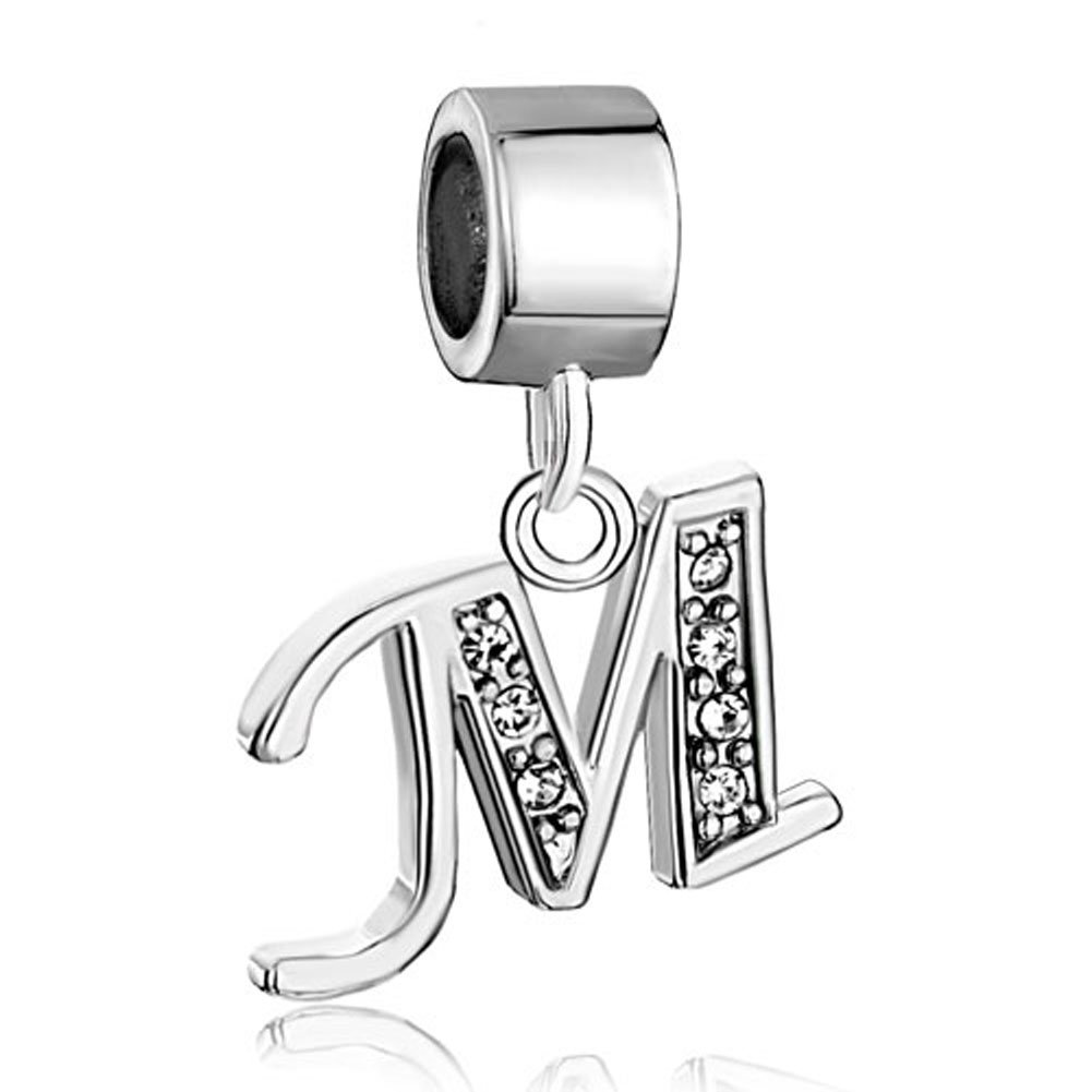 Back To Search Resultsjewelry & Accessories Smart New Arrived 26 Letters Stainless Steel Beads Charm With Hole High Quality Goods Beads & Jewelry Making