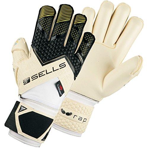 (Sells WRAP Elite Climate Guard Finger Protection Goalkeeper Gloves for Soccer )