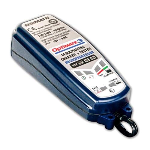 OptiMate 3+ Chargeur de batterie