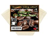 6 cone filter gold - P&F Natural Reusable Cone Coffee Filters #4 Melitta Style, No Harmful Chemical, All Natural (1, 2-PLY)