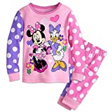 (US) Disney Minnie Mouse and Daisy Duck PJ PALS Pajamas for Girls Size 3