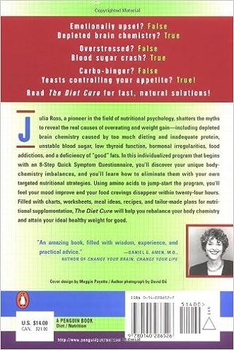 The Diet Cure: Julia Ross: 9780140286526: Amazon.com: Books