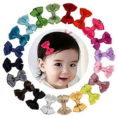 Baby Nest Sling (20pcs baby big hair bows boutique girls alligator clip grosgrain ribbon cute)