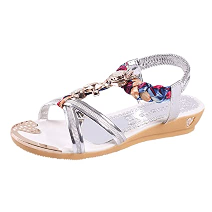 6ac495c32ea67 Amazon.com: YEZIJIN Hot Sale! Women's Fashion Casual Wedge Crystal ...