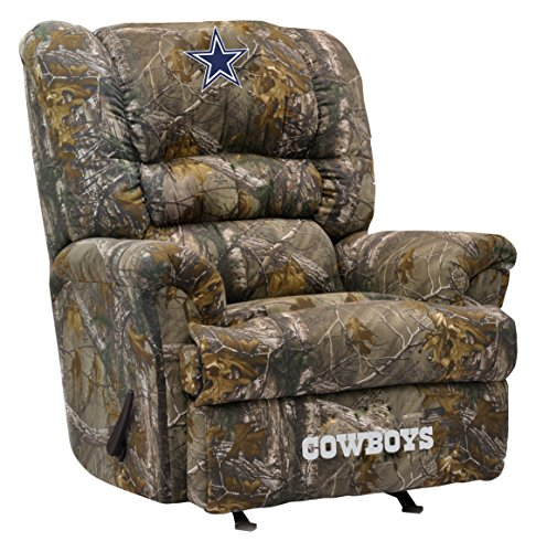 (Imperial Officially Licensed NFL Furniture: Big Daddy Camo Microfiber Rocker Recliner, Dallas Cowboys)