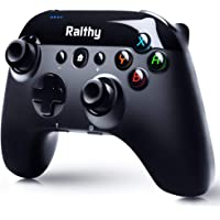 Wireless Controller Compatible with Switch/Switch Lite Console, Remote Gamepad with Dual Shock, Motion Control