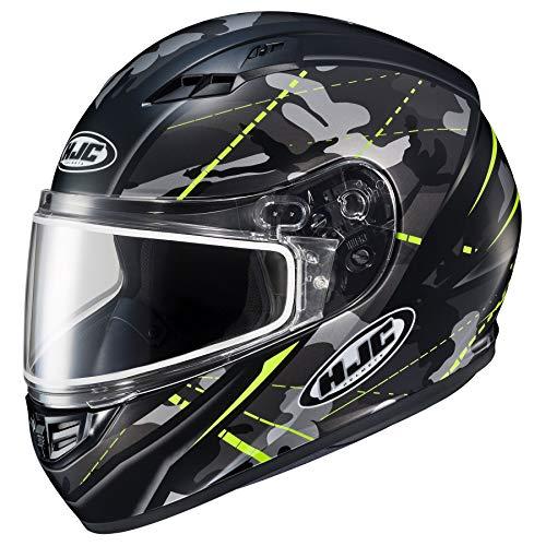 HJC 2019 CS-R3 SN Songtan MC3HSF Snow Helmet - Hi-Vis Yellow - Small
