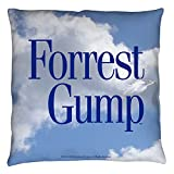 Forrest Gump 1994 Romantic Comedy Drama Movie Feather Throw Pillow
