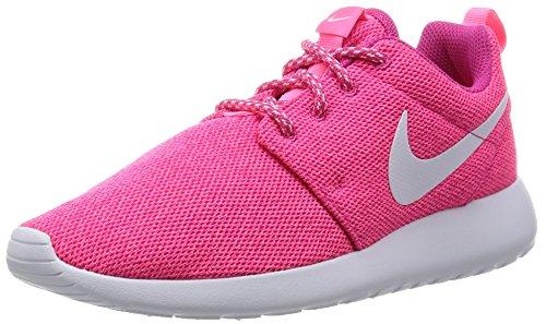 Nike Barna Roshe En Se (gs) Løpesko Sterk Rosa / Hvit / Digital Rosa