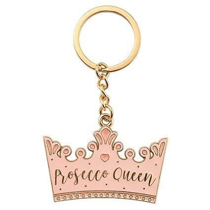 Llavero esmaltado con corona de Sass and Belle Prosecco ...
