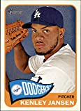 2014 Topps Heritage #403 Kenley Jansen - Los Angeles Dodgers (Baseball Cards)