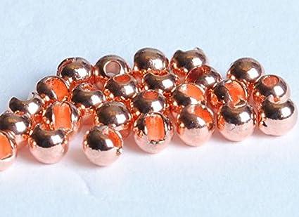 600 Rainbow Tungsten Fly Tying Beads Assorted Sizes A Angelsport-Artikel