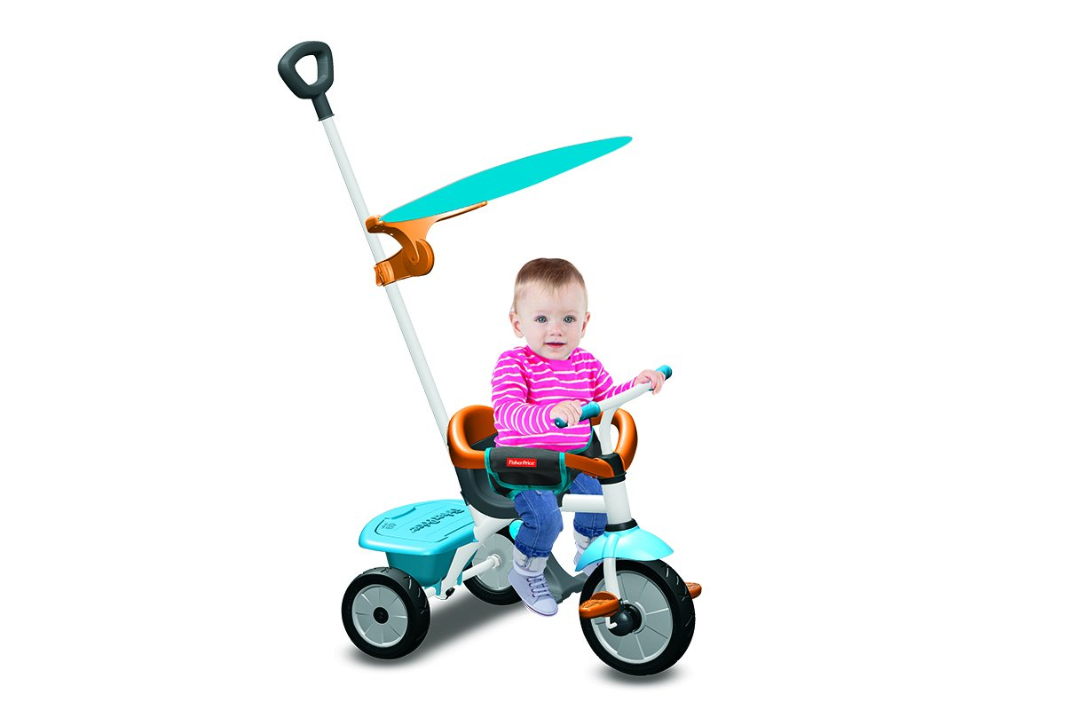 Fisher Price triciclo Jolly Plus azul