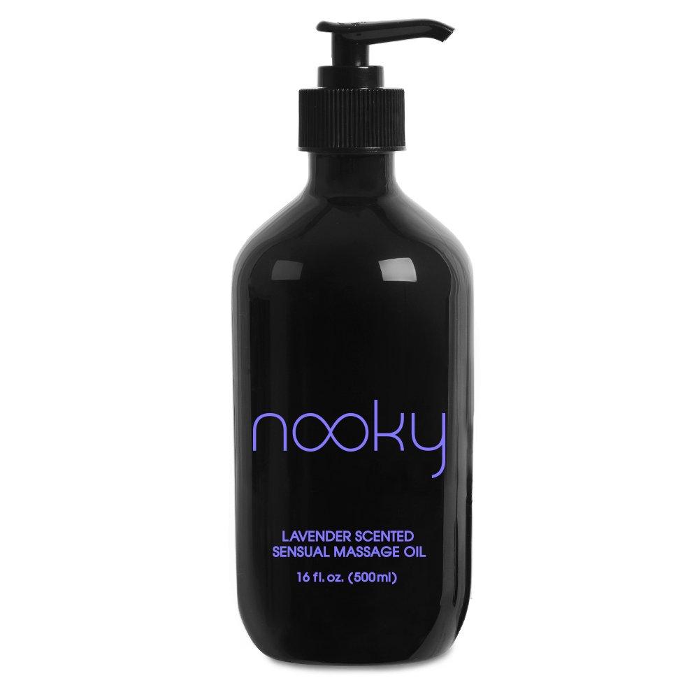 amazon com nooky massage oil with 100 premium natural