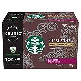 Starbucks Sumatra K-Cup Packs, Dark Roast Coffee, 60 Count
