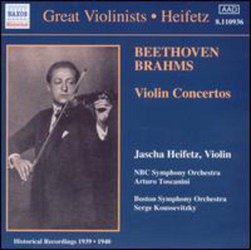 Beethoven, Brahms: Violin Concertos (1939, 1940)