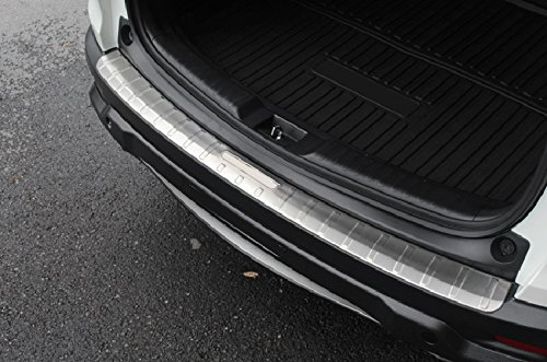 HIGH Flying 2pcs Trunk Boot Bumper Guard Sill Plate Protector Molding Steel for Honda CR-V 2017 2018