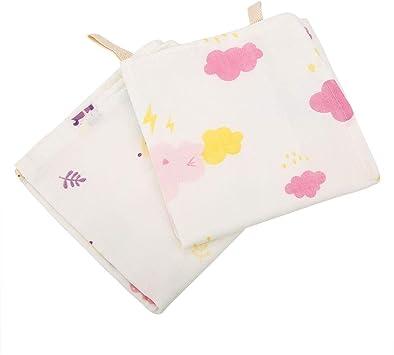 2pcs Paños de muselina para bebé, Paños de algodón absorbentes de ...