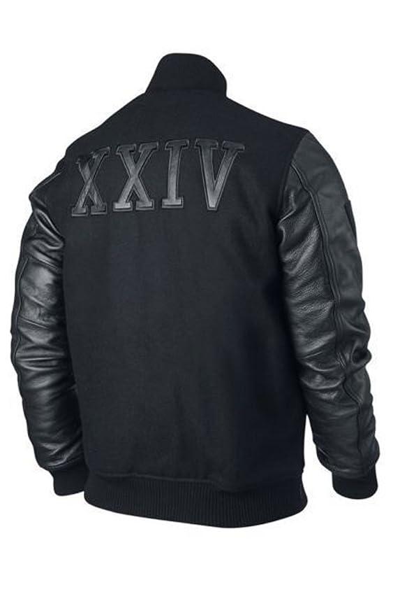 Kobe Destroyer XXIV Battle Michael B Jordan Leather Sleeves Jacket Super Selling
