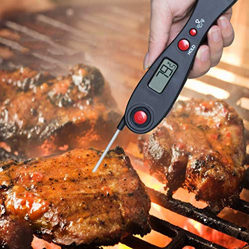 Elevin(TM)  Kitchen Electronic Cooking Tools Probe BBQ Meat Thermometer Digital Cooking Tool