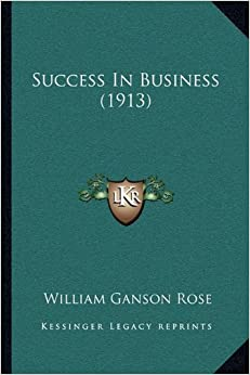 Book Success in Business (1913)