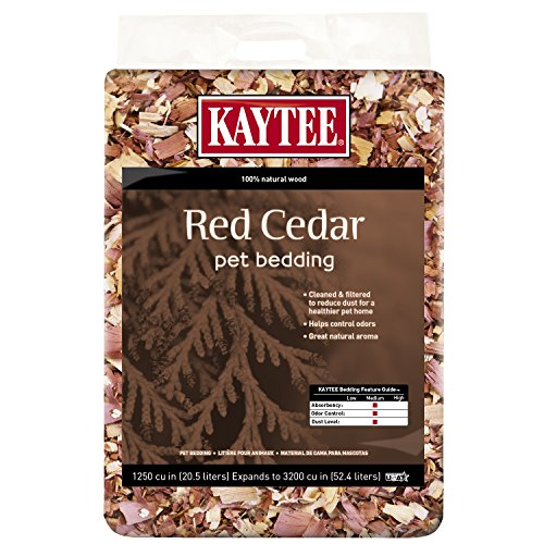 (Kaytee Red Cedar Bedding)