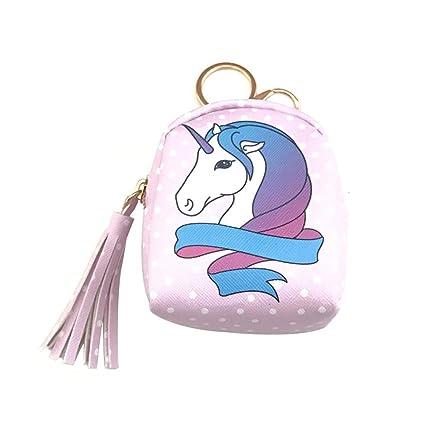 Ruikey 1Pcs Monederos Niña Unicornio Monederos Mujer ...