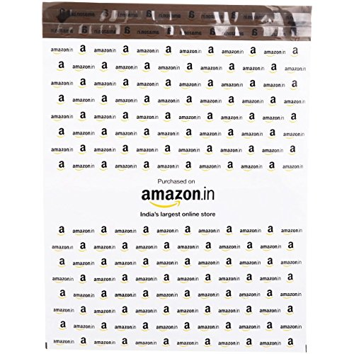Amazon.in Branded Economy Polybag without Document Pouch (Size -14 Inches X 12 Inches, Count – 500 Polybags) Price & Reviews
