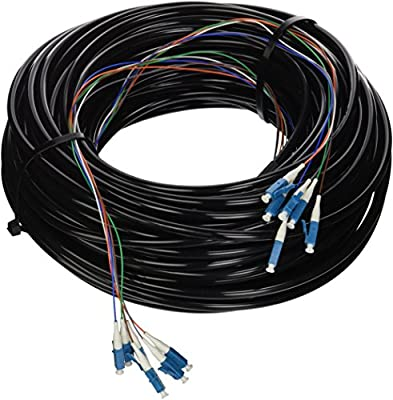 Ubiquiti FC-SM-300 SM G.657.A2 Optical 6-Strand LC-LC Outdoor Cable 300ft 90m