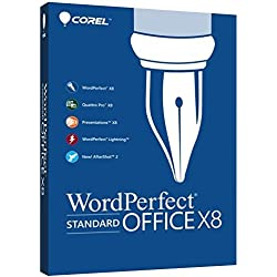 Corel WordPerfect Office X8 Standard Edition for PC (Old Version)