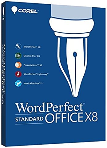 Corel WordPerfect Office X8 Standard Upgrade (Word Perfect Office Suite)