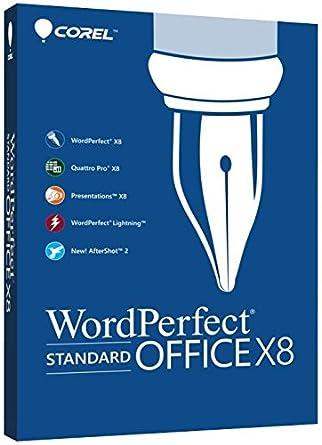 Corel WordPerfect Office v.X8 Standard Edition - Box Pack - 1 User